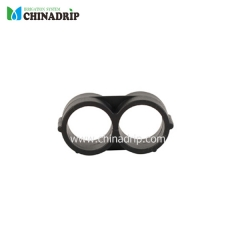 16mm pe pipe figure 8 fin line